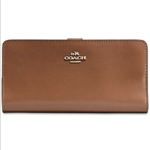 Coach Skinny Wallet in Refined Leather